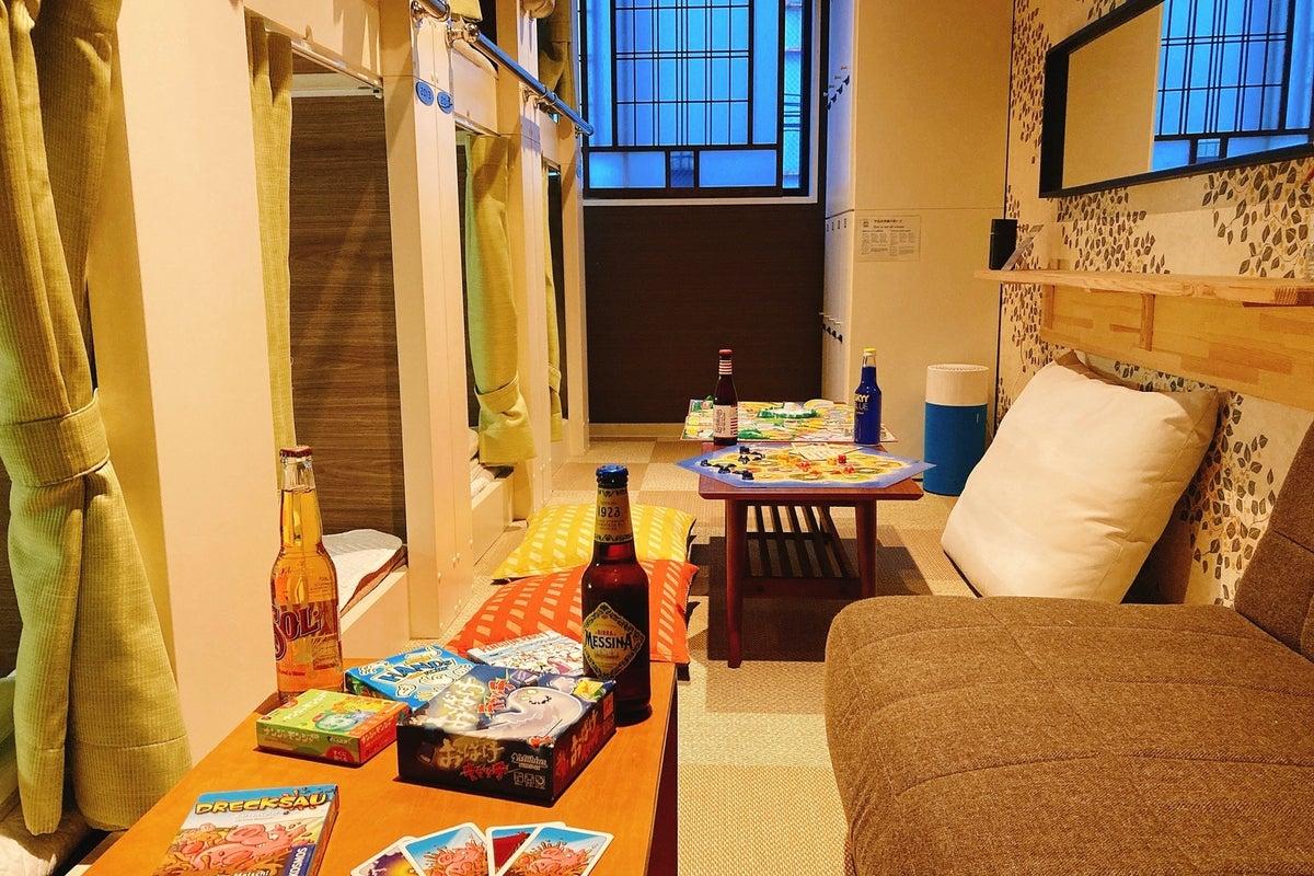 【個室】みんなで遊べる!カード、ボードゲーム無料貸出!穴場な個室スペース の写真