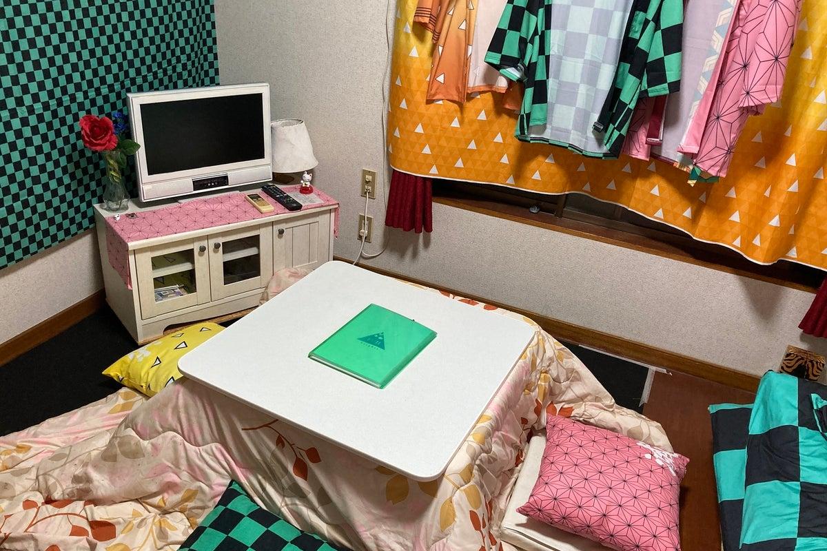 アニメコスプレ撮影・飲み会、女子会・誕生日会などに!他の部屋リモートワークにも! の写真