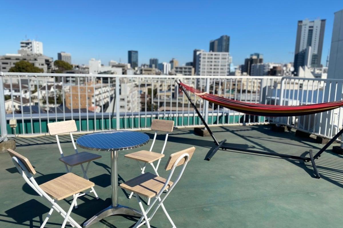 <市ヶ谷駅徒歩3分!>市ヶ谷の景色を独り占め!ルーフトップ by Star-Club ichigaya の写真