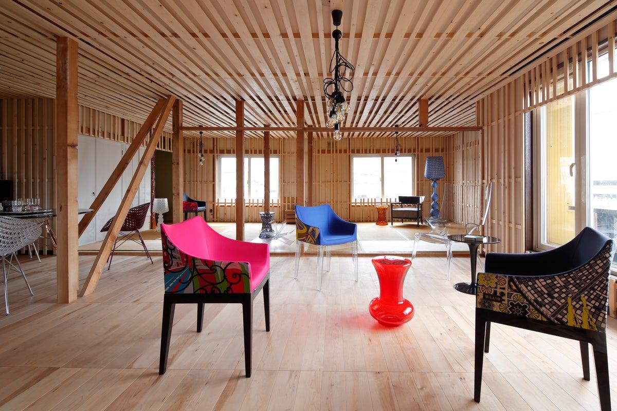 キッチン付きレンタルスペース「ムスブ」 ふわもこ®ソフトクリームとスペシャルティコーヒーのcafestand musbu2階 の写真
