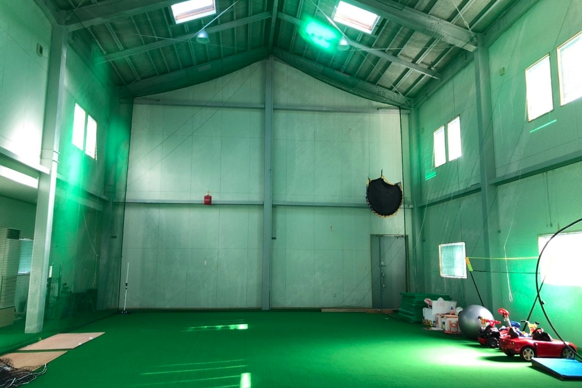人工芝 屋内施設(ミニ体育館) の写真