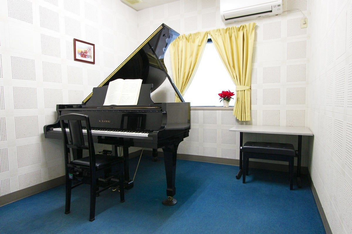 【防音/グランドピアノ完備】ピアノや各種楽器の趣味・練習、さらにレッスンスタジオとして定期利用も可能です! の写真