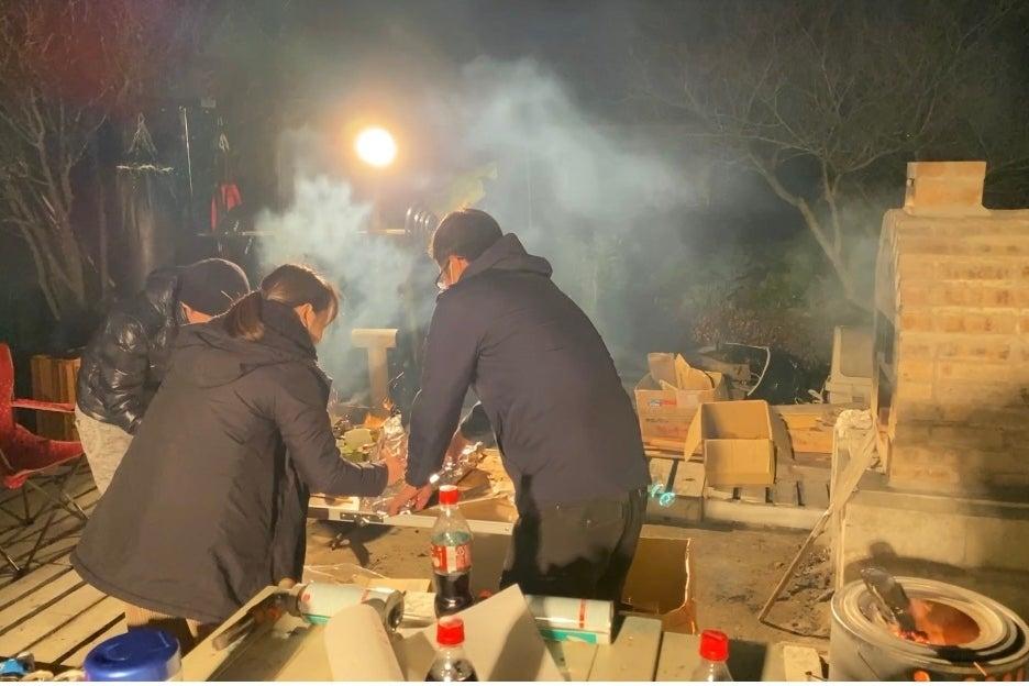 海辺で窯パーティー!貸し切りスペースでパーティーしちゃおう!🎵 の写真