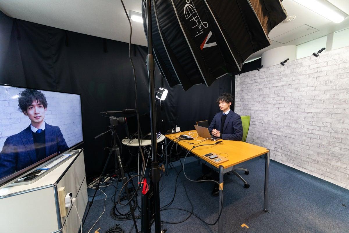 【プロカメラマンにおまかせ!】【外苑前駅5分】北青山配信収録スタジオ/ウェビナー/動画撮影スタジオ/機材,サポートあり の写真