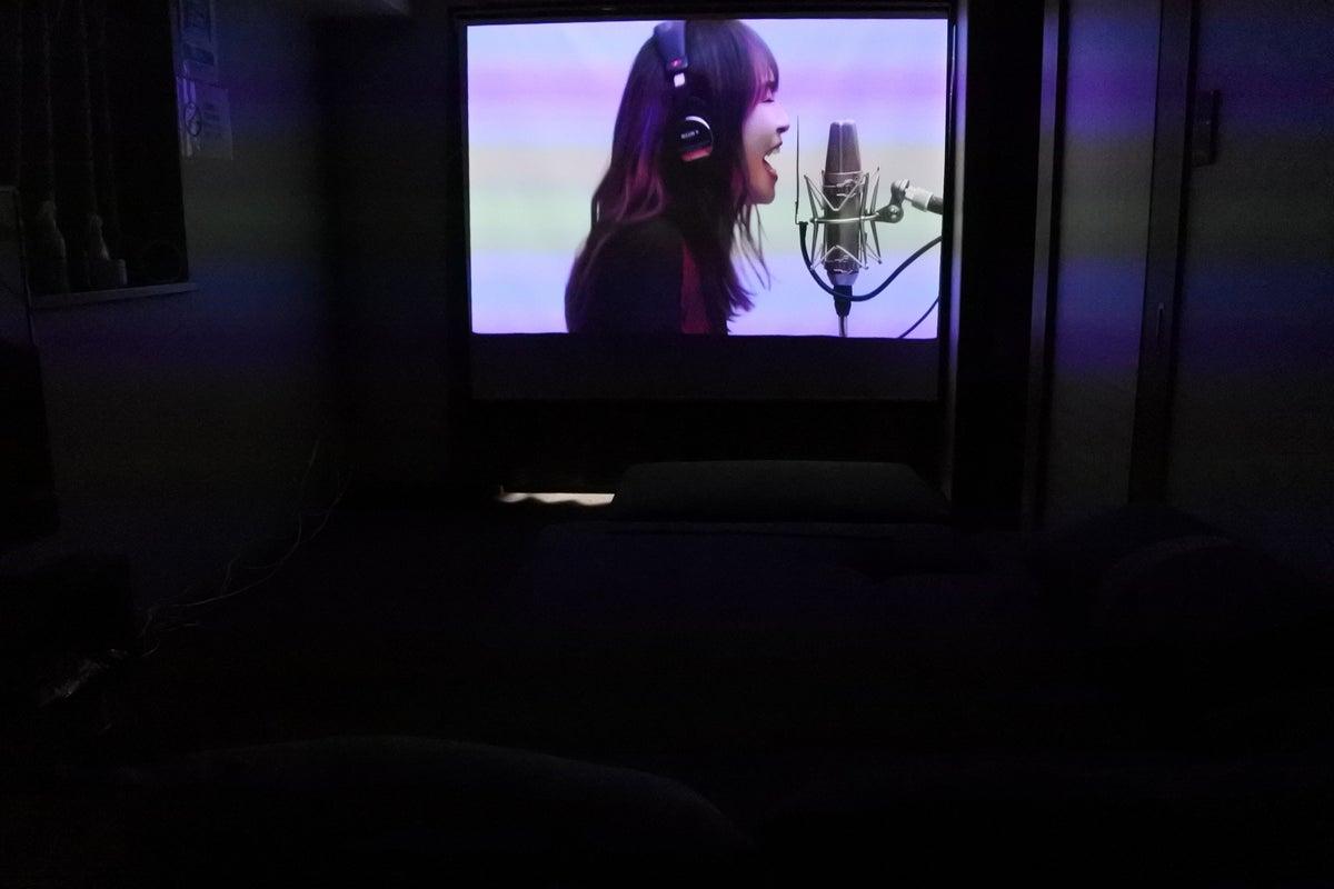 ♡306角部屋♡大型スクリーン&大型TVで、Live・映画鑑賞!雨の日でも暑い日でも快適!ソファベッドでつい長時間過ごせます♪ の写真