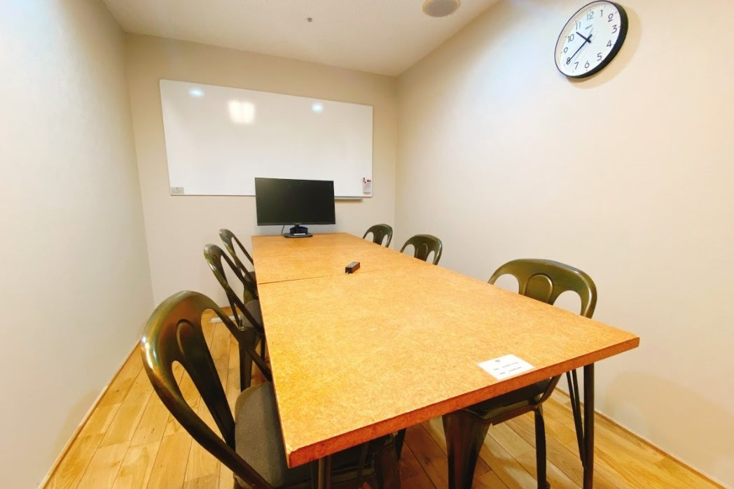 【会議室】有楽町駅 徒歩1分/6~8名収容/ミーティングスペース の写真
