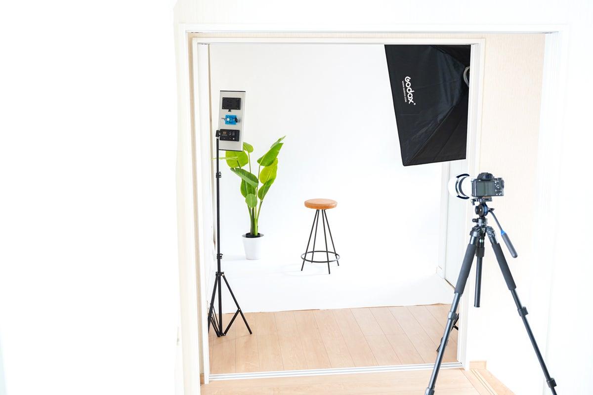 嵐電徒歩3分!写真・動画撮影!白ホリ、クロマキー、各種照明機器も充実。クリエーター在中で撮影から編集をトータルにサポート!! の写真