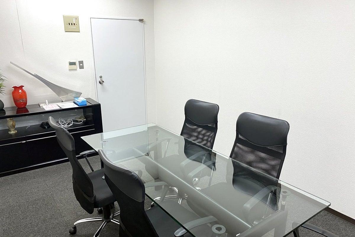 アクリルバーテーション設置、wifi無料、高級感あり!商談、契約、面接、会議に最適! の写真