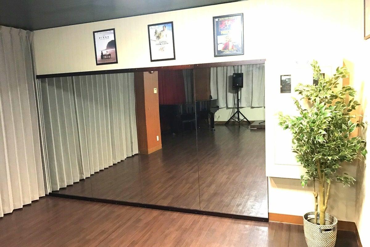 【昭島駅前フローラカルチャークラブ】グランドピアノ・プロジェクター・スクリーン・全身鏡など完備♪ の写真