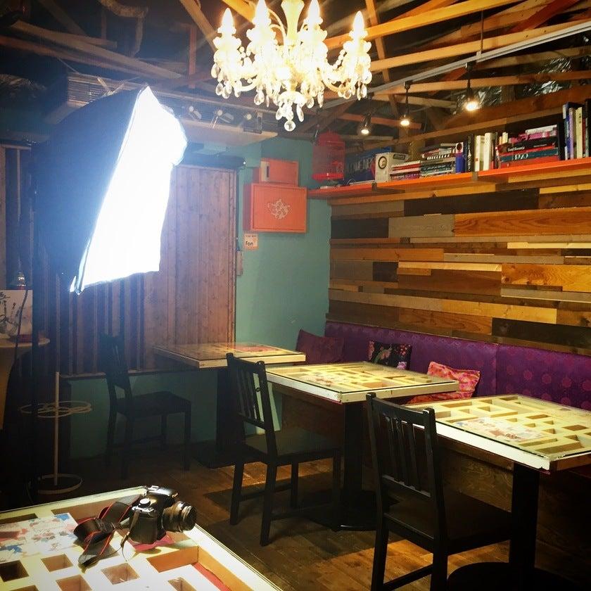 【横浜中華街】ファッションブランドプロデュースの隠れ家カフェ。キッチン利用も可。シェアキッチン。 のサムネイル