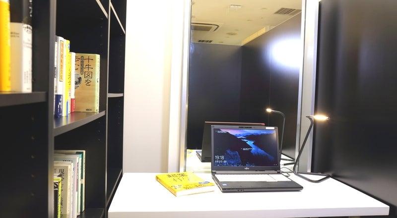 プライベート空間の半個室【ソロブース】新神戸駅直結の豪華ホテルロビー階!