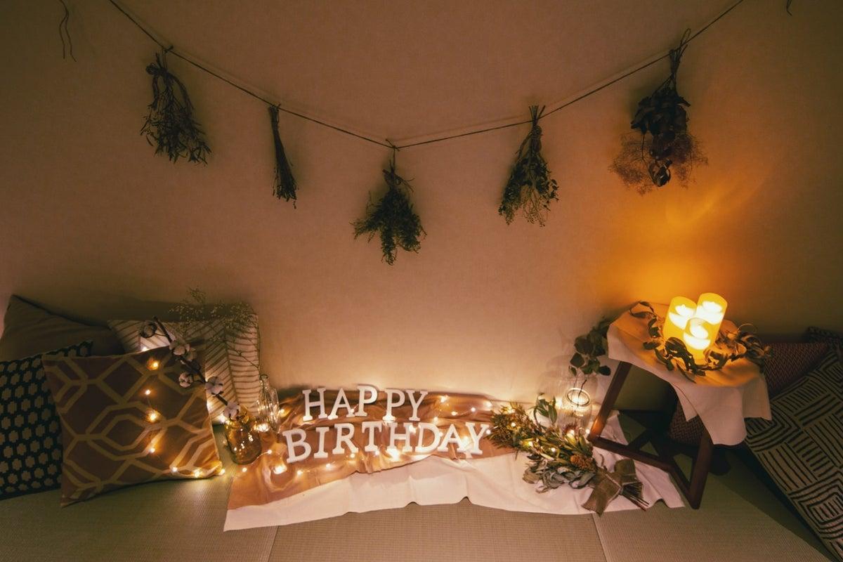【倉敷駅徒歩2分!】北欧風インテリアのお部屋でプライベート時間を!お仕事・女子会・パーティーに の写真