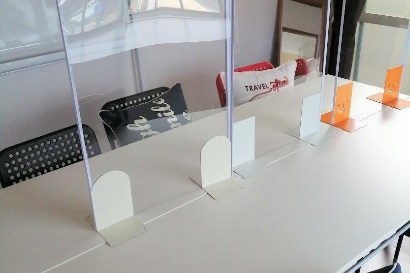 即予約可・Wi-Fiありの完全個室でウェブ会議最適/最寄り駅は明石駅/テレワーク/会議商談/大型モニータあり の写真