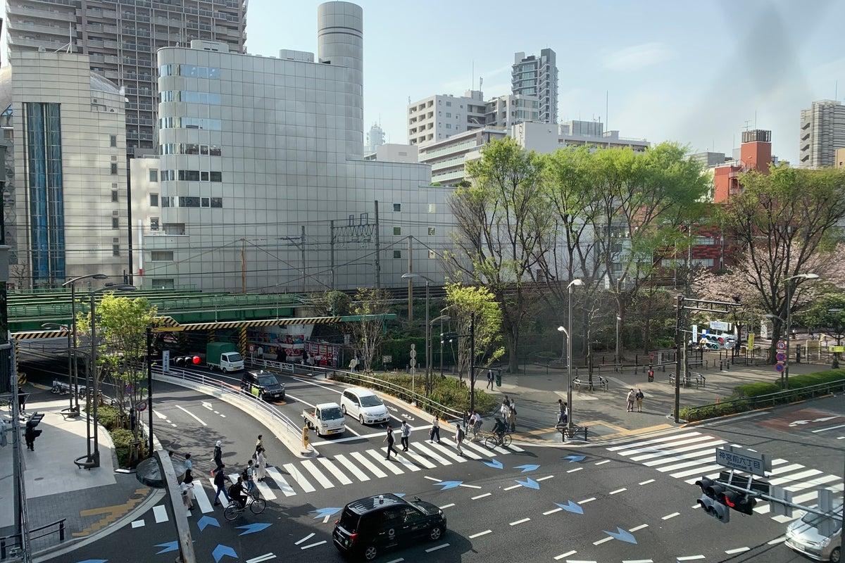 【渋谷駅徒歩3分】宮下パーク向かい!眺めの良い清潔感溢れるパーソナルレンタルジム <5in1マルチファンクショナルマシン導入> の写真