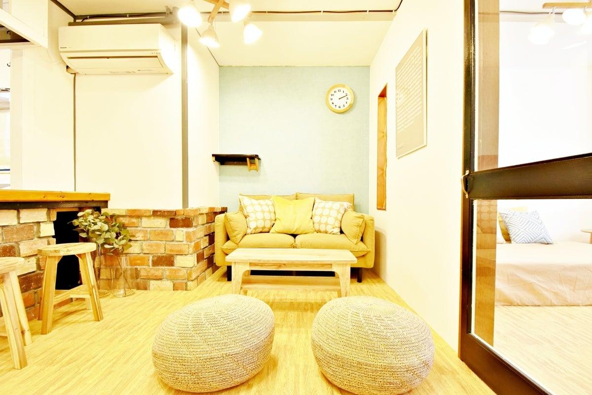 327【シェアスペNature三ノ宮】駅近✨ごみおまかせOK!キッチン有/パーティー/飲み会/おうちデート✨ の写真