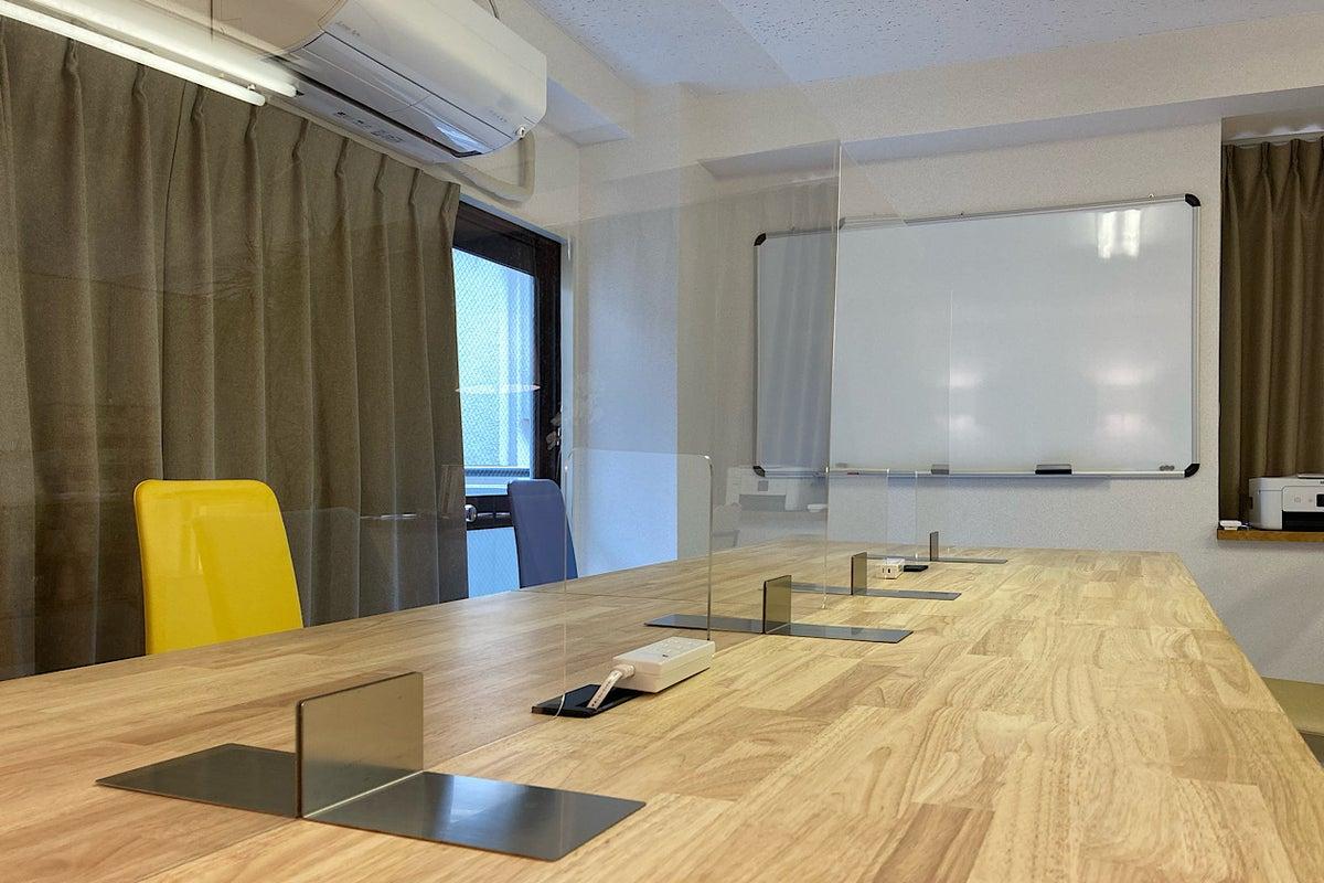 🌸カラフル座席の小さなオフィス in 青梅🌸テレワーク/Web面接/リモート授業/レッスン/会議/セミナーに最適【今すぐ予約可】 の写真