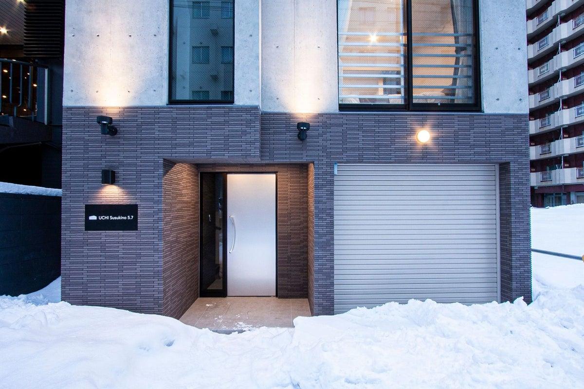 【南5西7】新築綺麗な1室で小規模なPARTY、撮影など駐車場応相談。R2 の写真