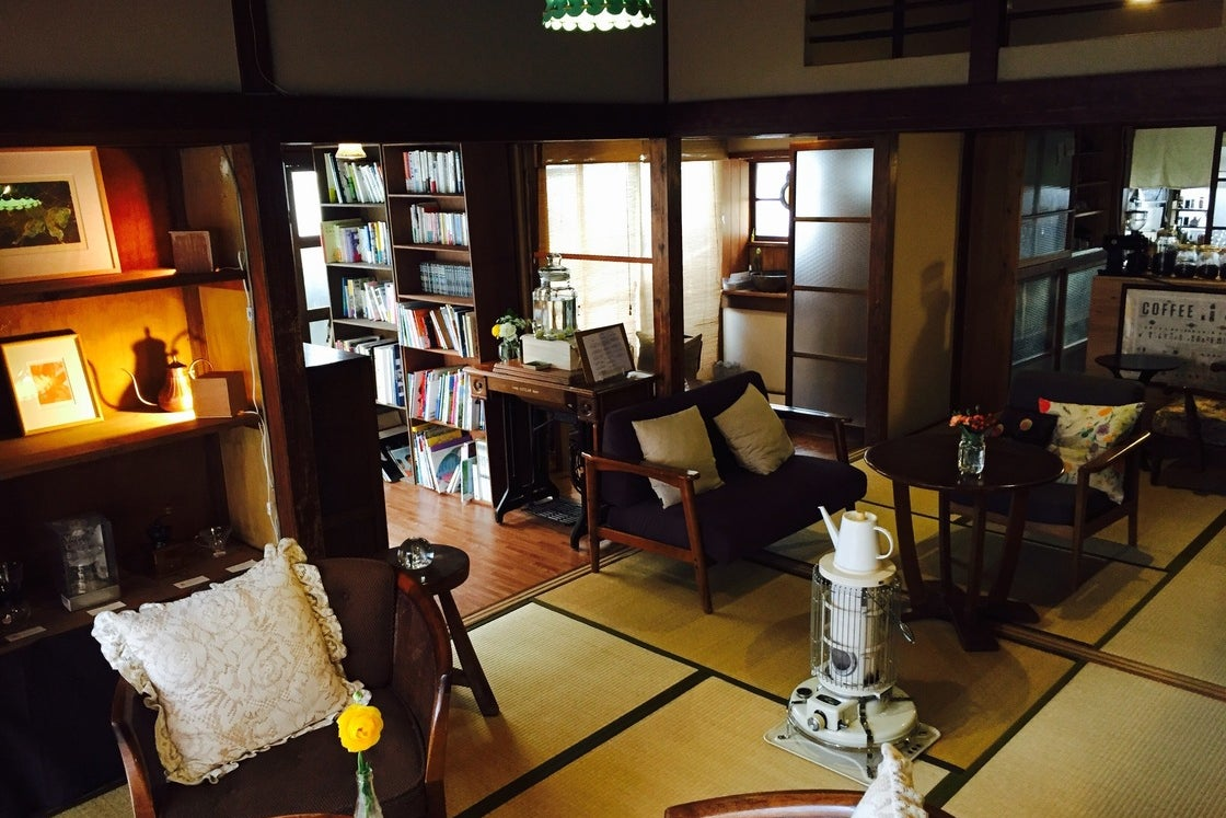 【江ノ島・喫茶ラムピリカ】海から10分。古民家を改装したお洒落な喫茶店。 の写真