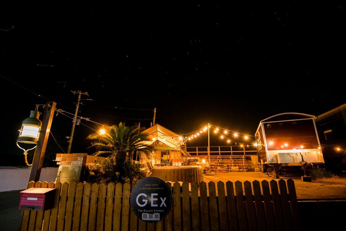 ✨海辺のプライベートBBQ✨トレーラーハウス付き屋外バーベキュースペース の写真