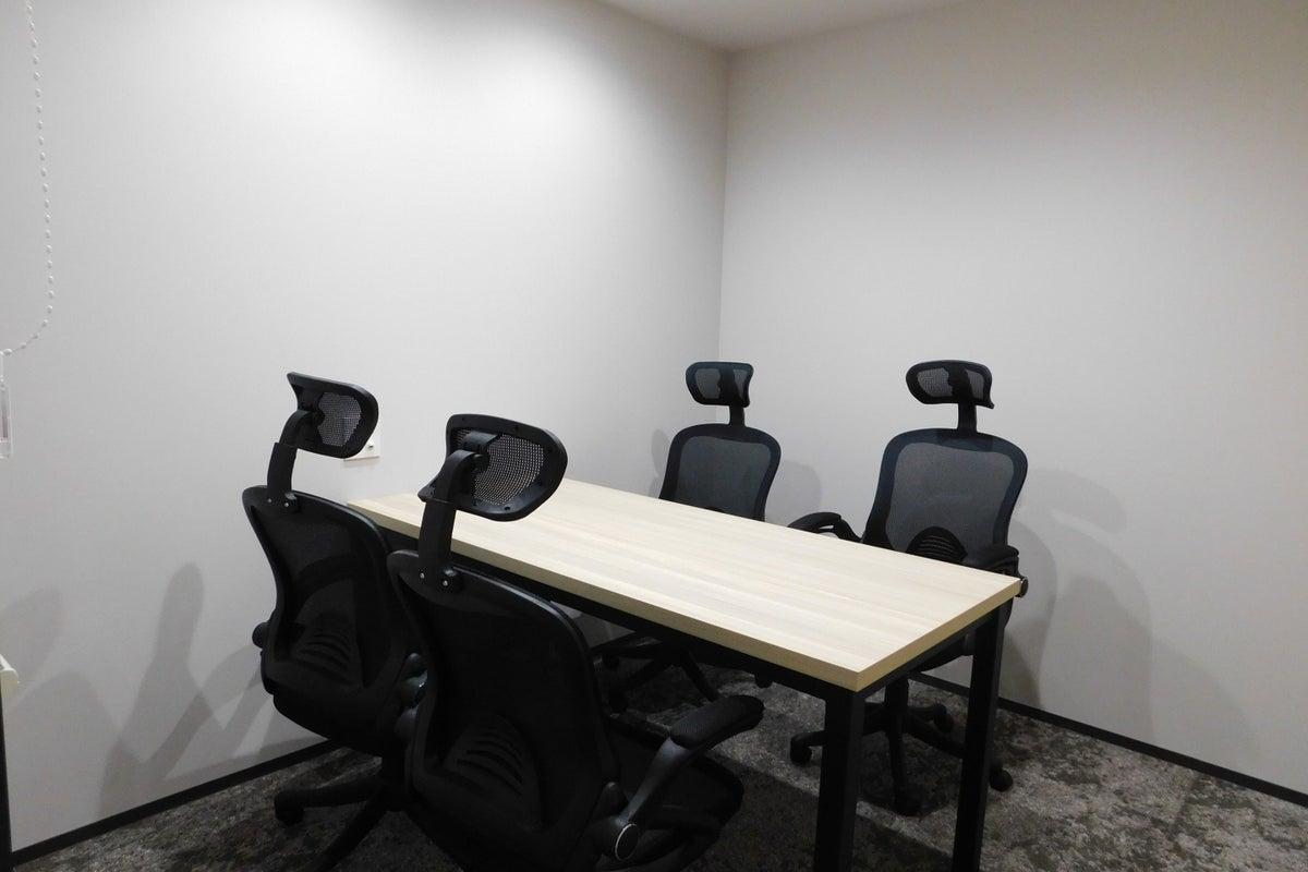 【武蔵溝ノ口徒歩3分】4名用会議室#Wi-Fi#フリードリンク#テレワーク#WEB会議 の写真