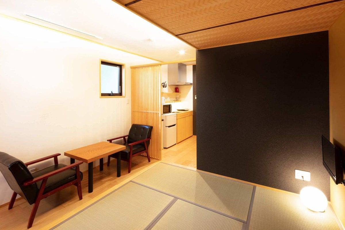 分散型民泊 Kamon Inn 東寺道【room D】-京都の世界遺産へアクセス抜群/個室/和モダン町家- の写真
