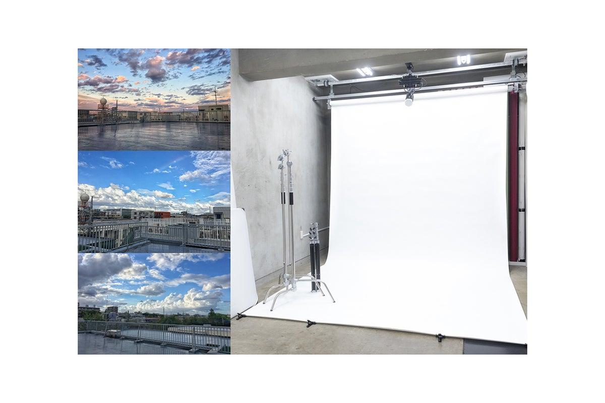 【京王線府中駅から徒歩3分】格安シンプルスタジオ!100㎡屋上使用可能。清田写真スタジオ の写真