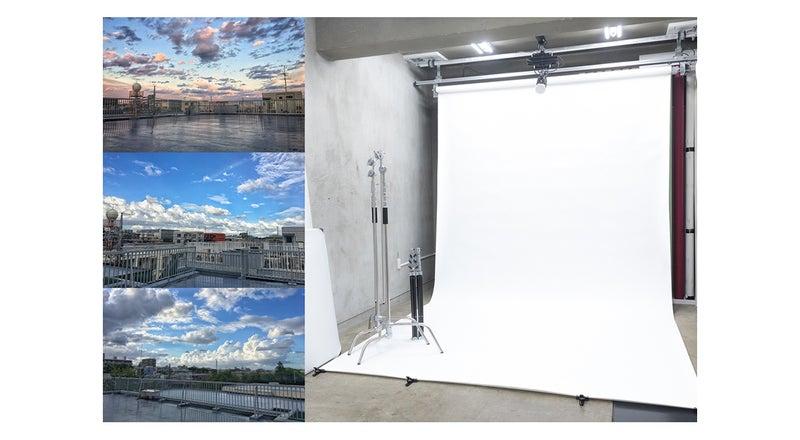 【京王線府中駅から徒歩3分】格安シンプルスタジオ!100㎡屋上使用可能。清田写真スタジオ