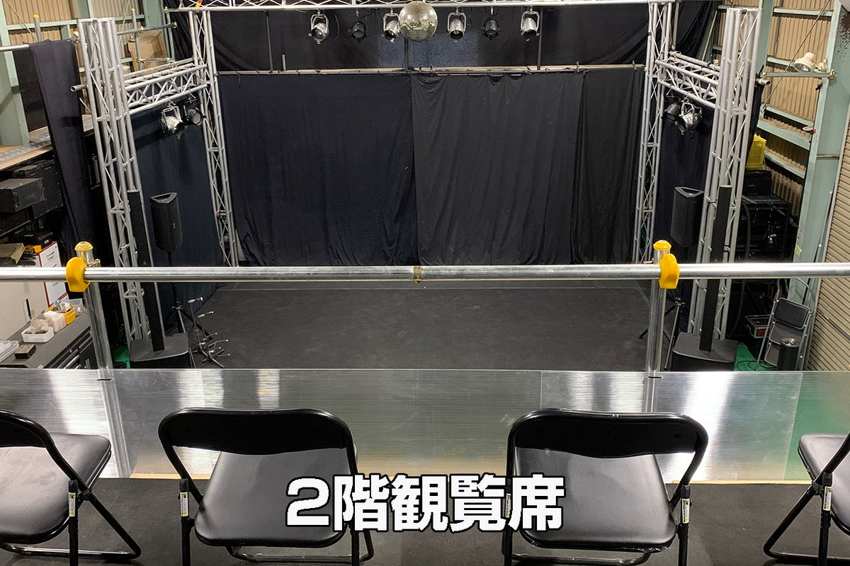 【AMD Channel 倉庫スタジオ】ライブ配信、コンサートリハーサル、収録、撮影に幅広くご利用可能! の写真