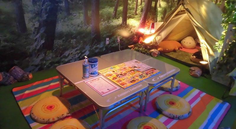 ⛺テントとワタシ⛺☆雨の日でも室内で手ぶらで本格的なキャンプ体験が楽しめます。☆キャンプ道具完備☆