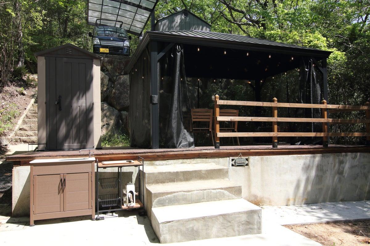 【1日1組限定】大自然に囲まれた貸切BBQ、プライベートキャンプ場・BBQコンロ・焚き火台・ハンモック貸出! の写真
