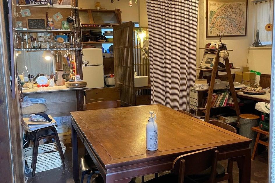 都心の古民家をD.I.Yしたカフェ!撮影やインタビューにも の写真