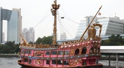 【みなとみらいぷかりさん橋】海賊船チャータークルーズ(イベント、パーティーparty、BBQ、記念日、結婚式、ユニークベニュー)