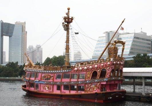 【千葉みなと桟橋】海賊船チャータークルーズ(イベント、パーティーparty、BBQ、記念日、結婚式、ユニークベニュー)