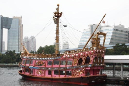 【千葉みなと桟橋】海賊船チャータークルーズ(イベント、パーティーparty、BBQ、記念日、結婚式、ユニークベニュー) の写真