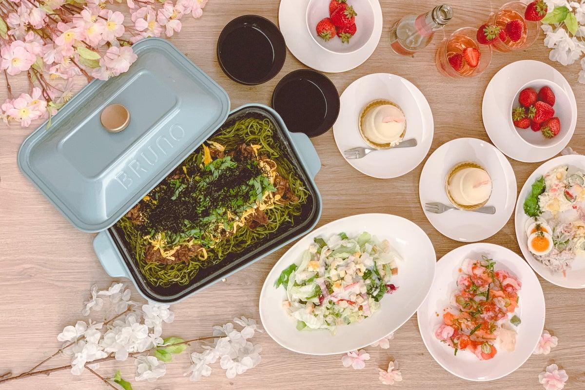 【フラワールーム🌸】キッチン付き🍳BRUNO女子会・料理会/誕生日会/ホームパーティー/デリバリーOK🍗 の写真