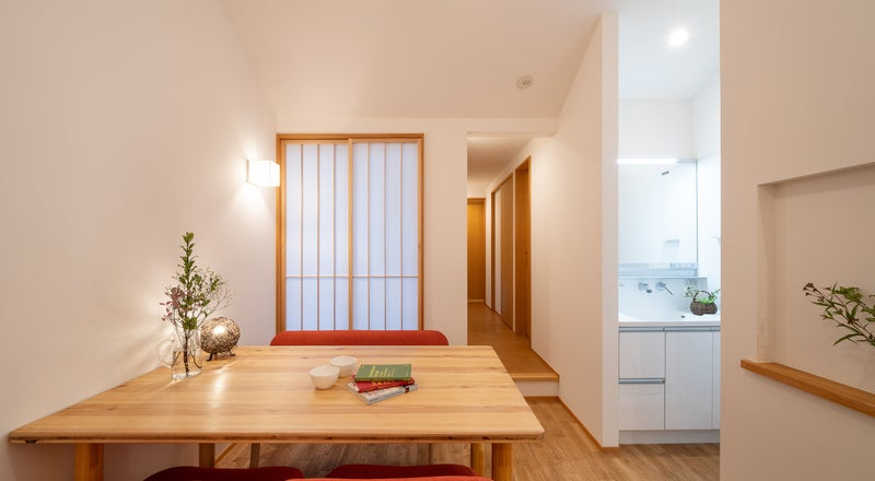 【木の家2F】森下駅2分・キッチン完備・木造ワンフロア貸切。会議やパーティーに。