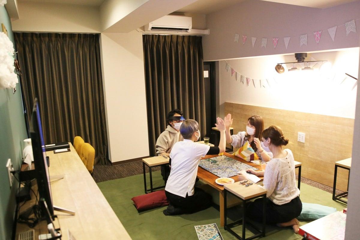 京都駅近く😊ボードゲーム部屋✨パーティースペース🎉Netfrix視聴OK🎬お家のように過ごす🏡CT/BDG の写真