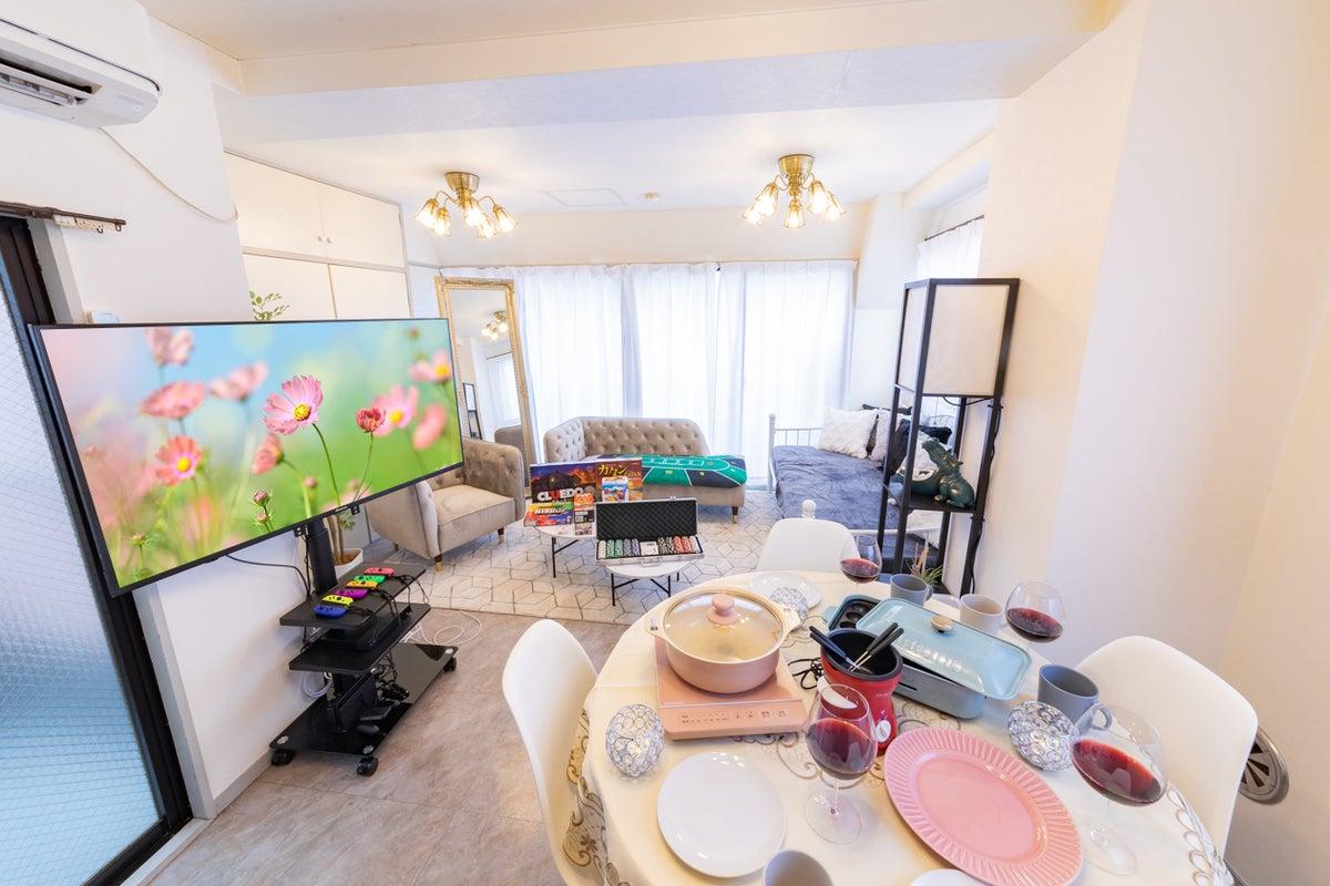 158_エレガンス東新宿🌿東新宿3分😍超BIGテレビで大人気ゲーム機🎮BRUNOでタコパ🐙三面採光で撮影👑Wi-Fi の写真