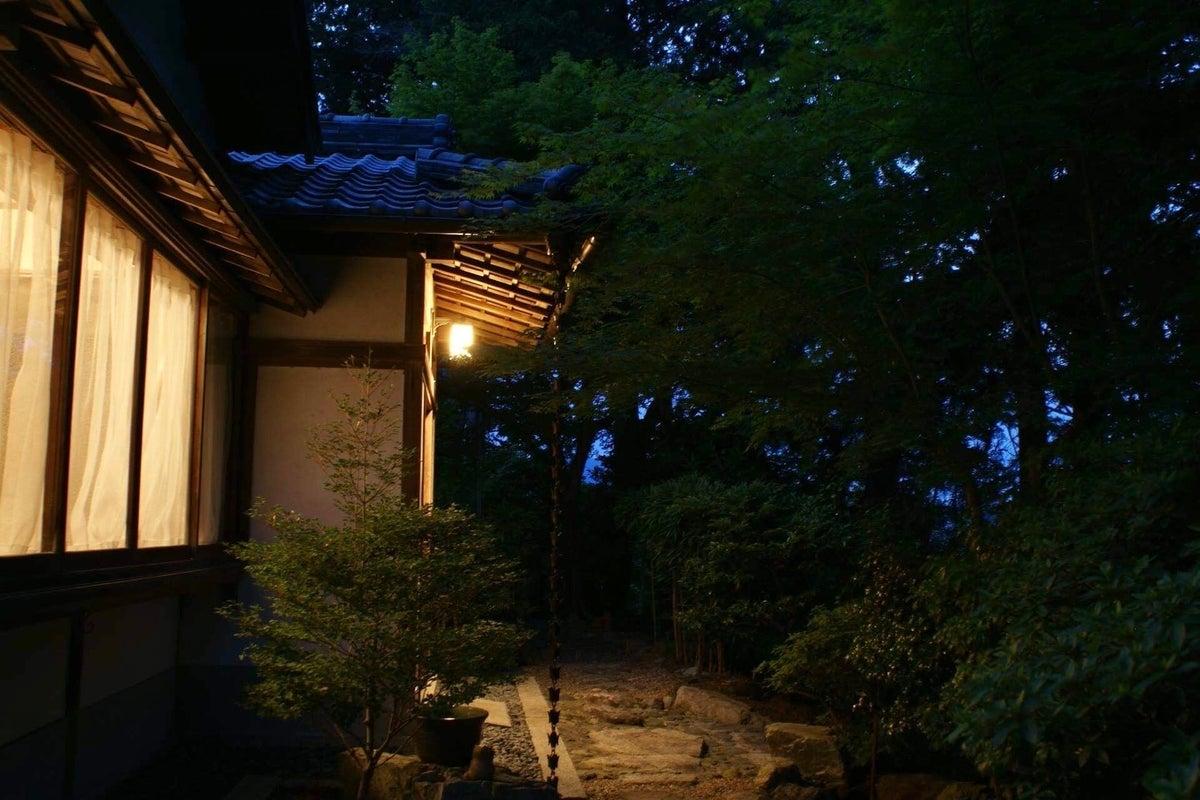通尾天神山 松風庵   のど黒飴CM舞台です の写真