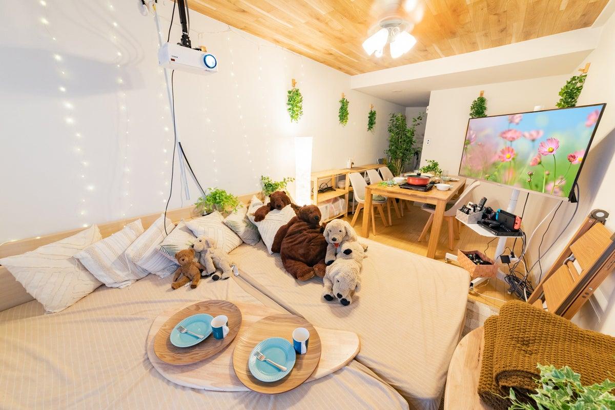 133_Oasis新宿🌿おうちデート💓大人気ゲーム機🍑Netflix/Hulu/DAZN視聴可👑鍋/タコパ🐙 の写真