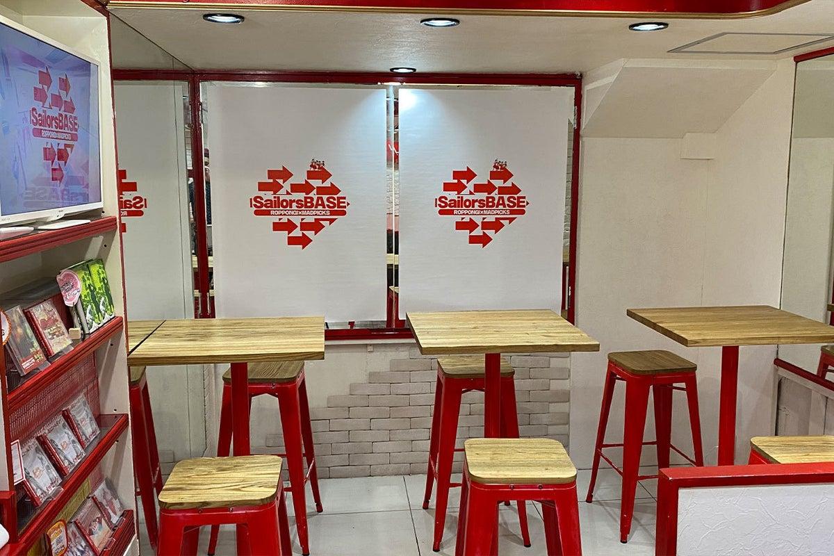 六本木駅徒歩3分で最安!仕事にも遊びにも少人数で使えるカフェ風スペース の写真