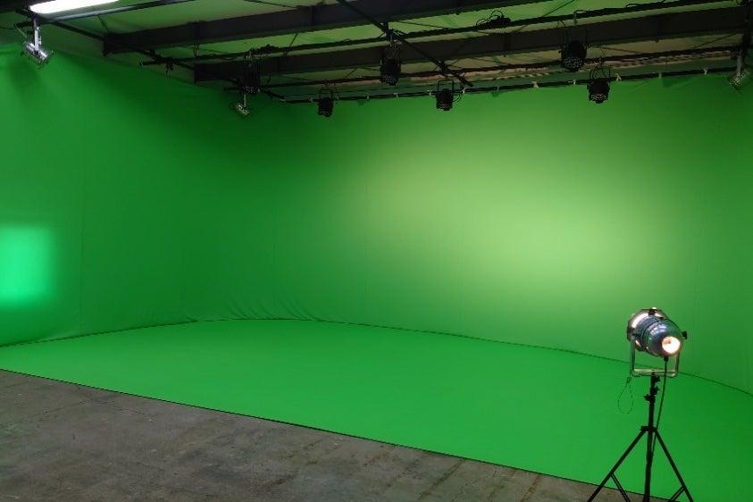 森の中の撮影スタジオ の写真