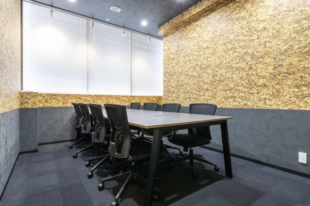 【志木駅徒歩1分】2020年5月20日OPEN✨完全個室の8名用会議室 の写真