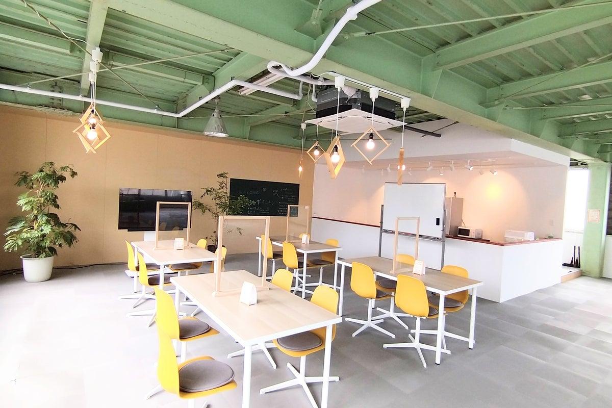 300【まるしずキッチン】シェアスぺ✨最大60名✨イベント・セミナー・多目的✨駐車場・駐輪場あり✨広々キッチン✨ママ会✨WiFi の写真