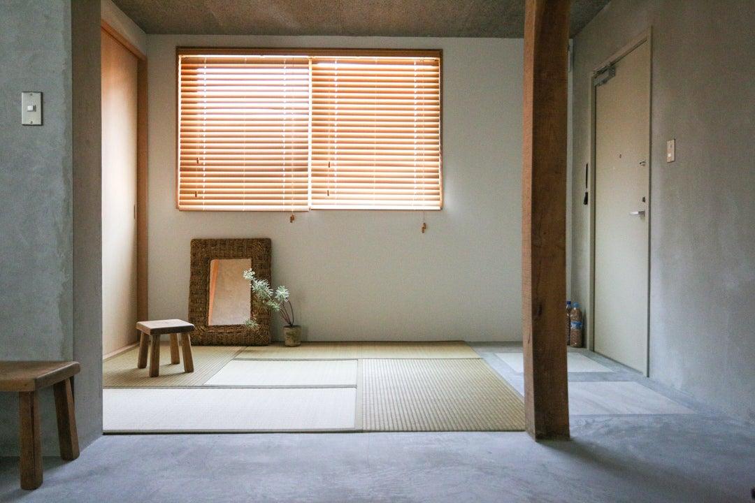 【SALE】草戸room.2 コンクリートと畳の非日常空間 駐車場・プロジェクター有 の写真