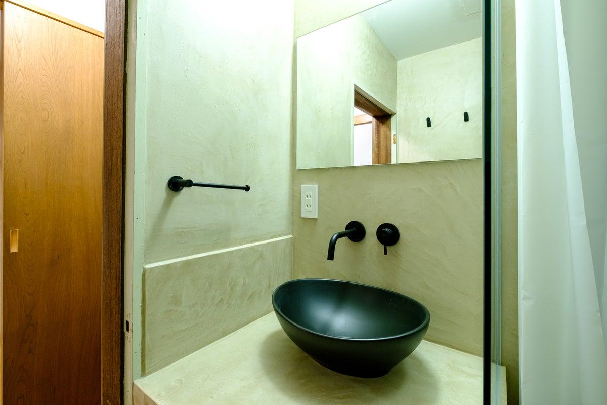 和風のホテルのようなスタジオ JACKビル701 by zens の写真