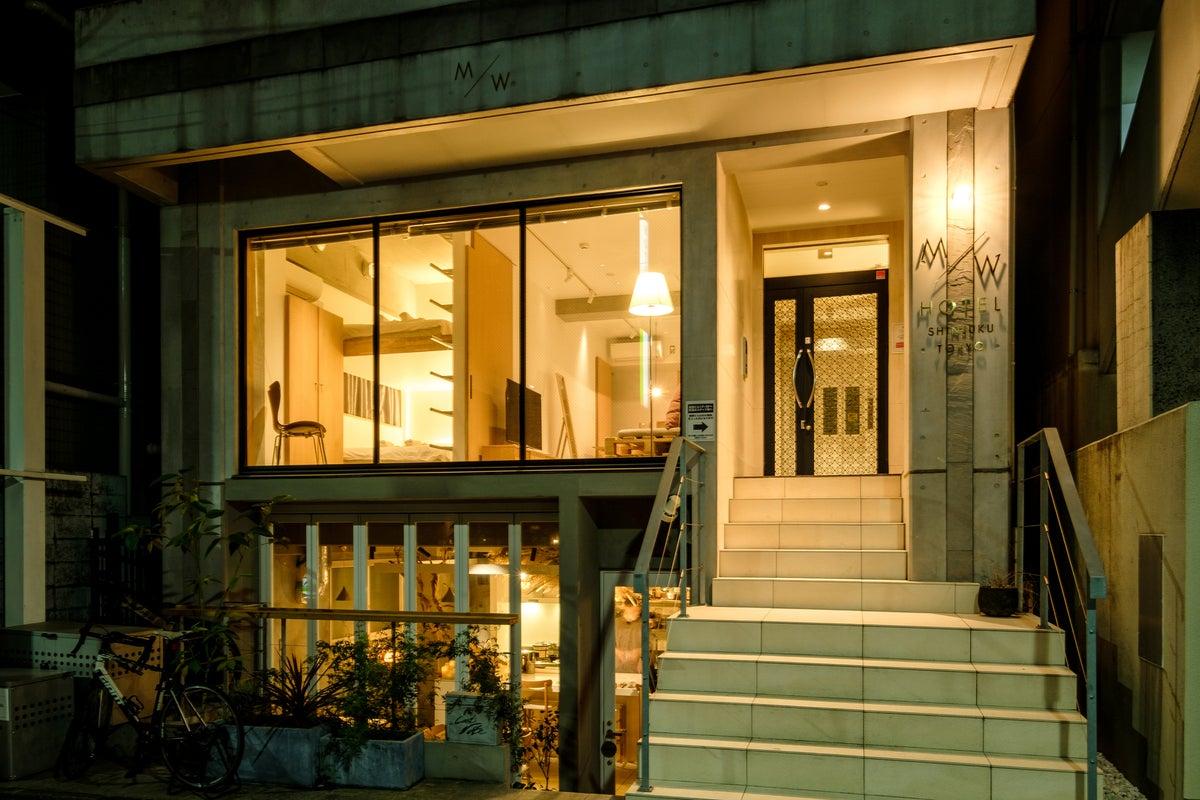 ナチュラルなハウススタジオ M/W HOTEL 4F by zens の写真