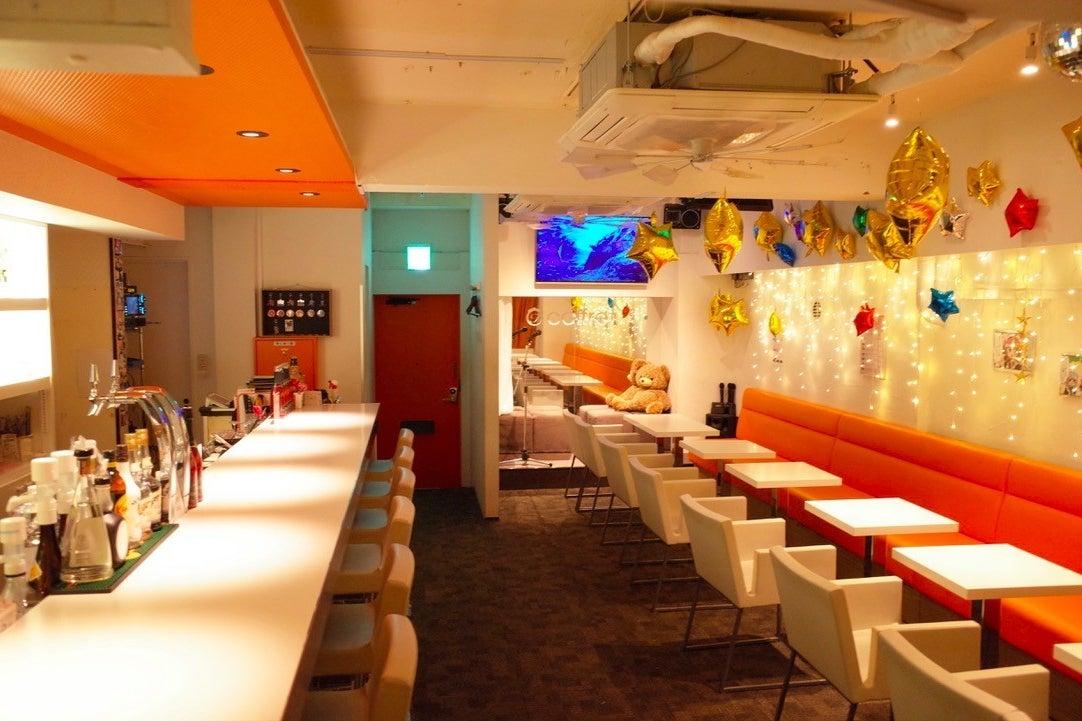 恵比寿駅すぐ!カラオケ、ミニステージあり、清潔感のあるカフェスペースで会議からパーティーまで多様な用途に♪ の写真