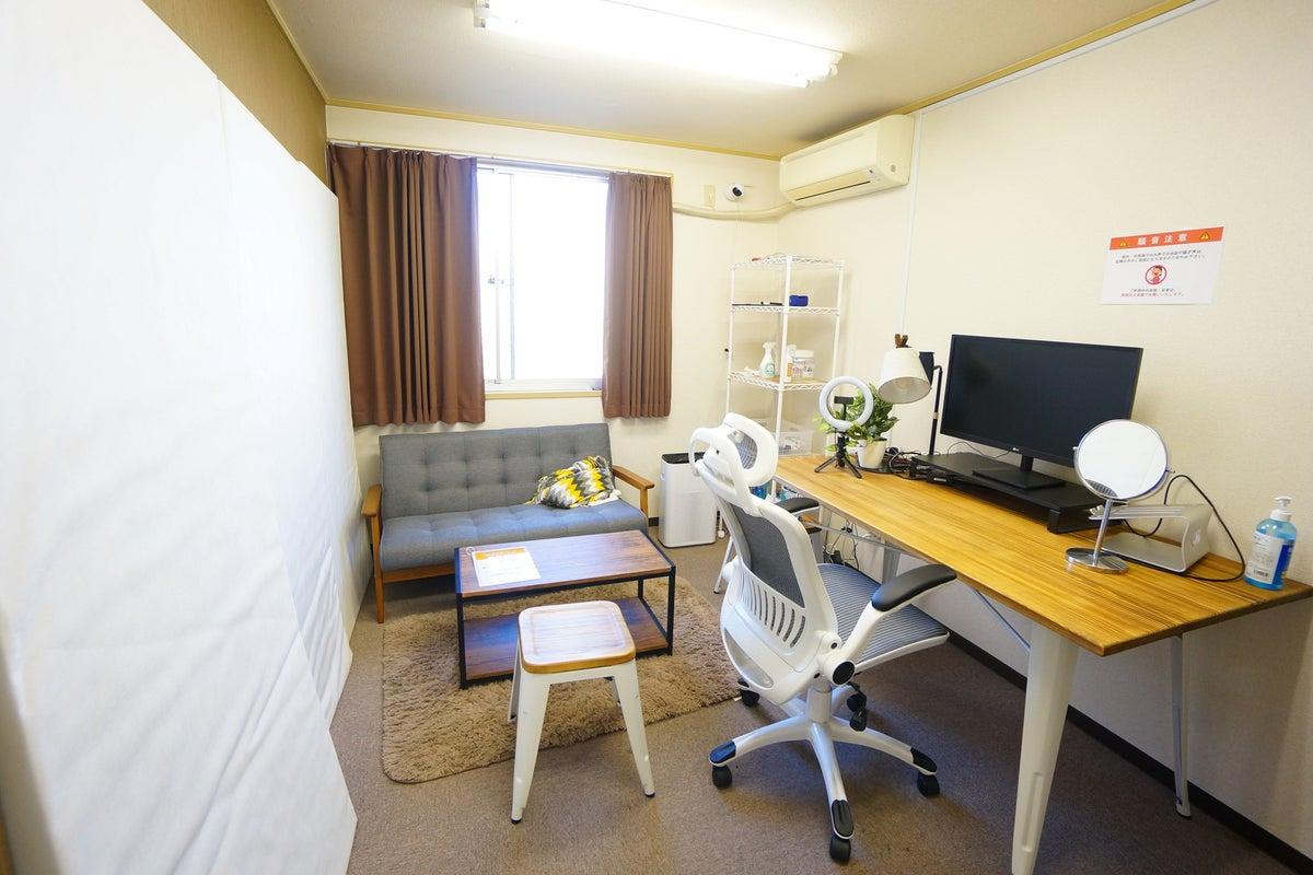 ⭐️光回線導入!⭐️<大阪福島ミニマルオフィス>完全個室✨モニター/Wi-Fi/テレワーク/Web会議,面接 の写真