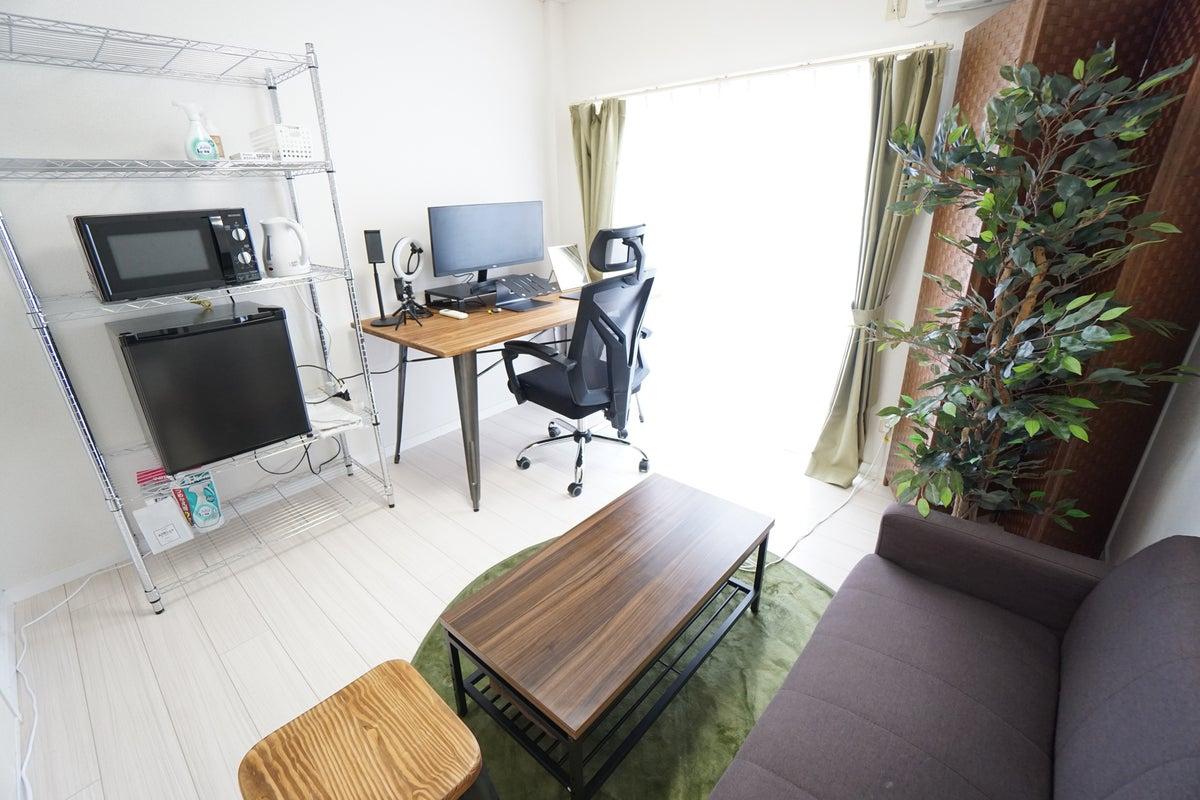 <藤沢ミニマルオフィス102>完全個室✨モニター/Wi-Fiあり!テレワーク/リモートワーク/Web会議,面接/撮影 の写真